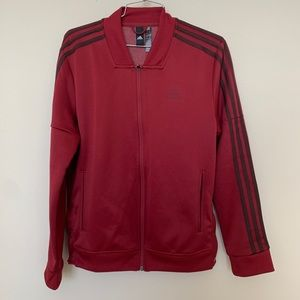Women's Adidas jacket button sides - Sz M